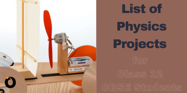 Physics Project for class 12 CBSE students